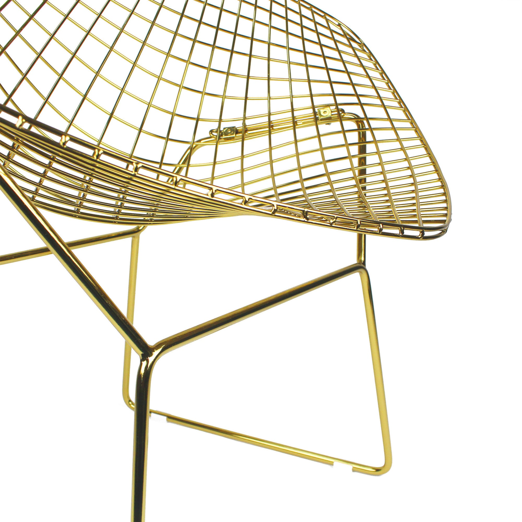 Golden Wire Chair & cushion  BP8019GO - ebarza