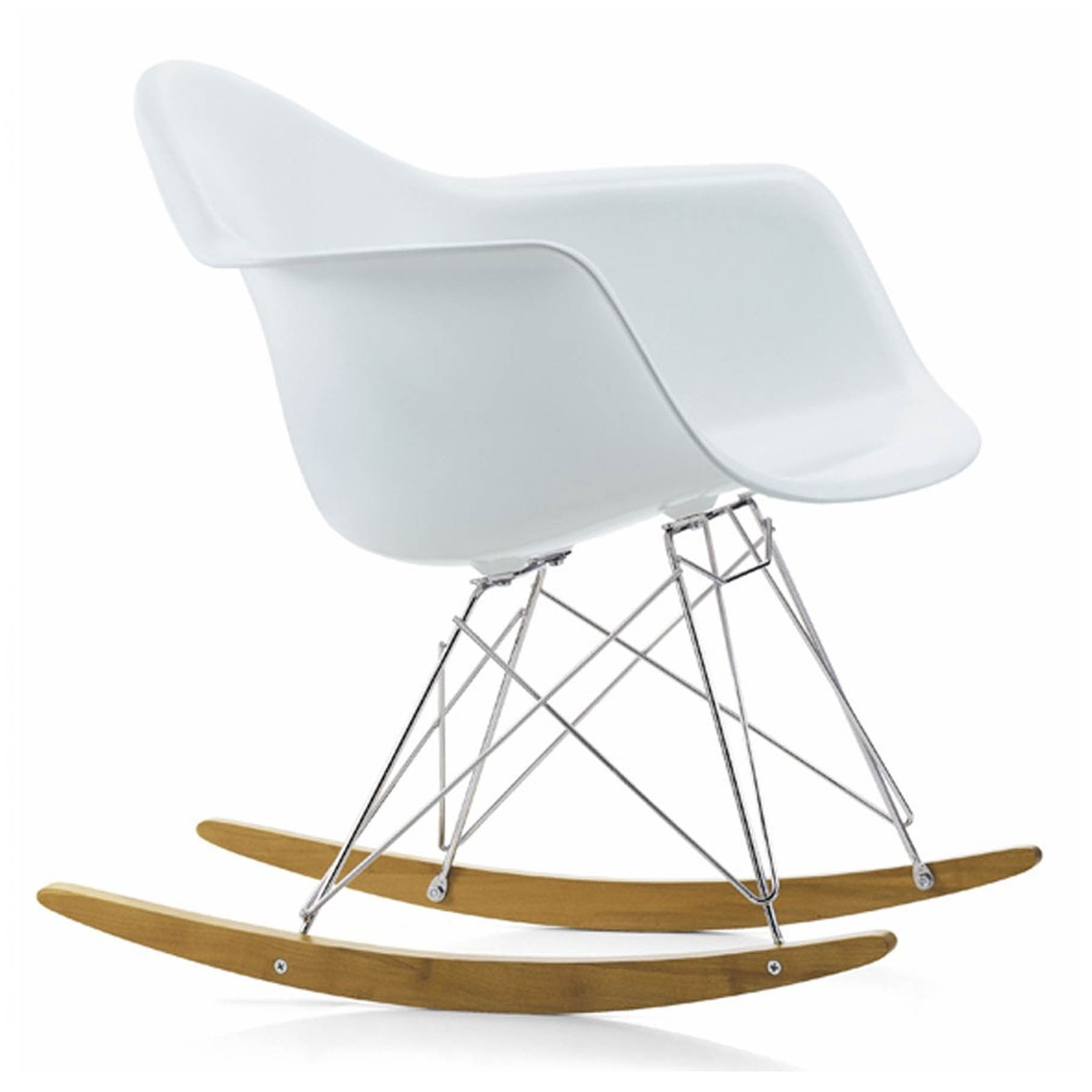 Rocking Chair-White Plastic- MSR0150P - ebarza