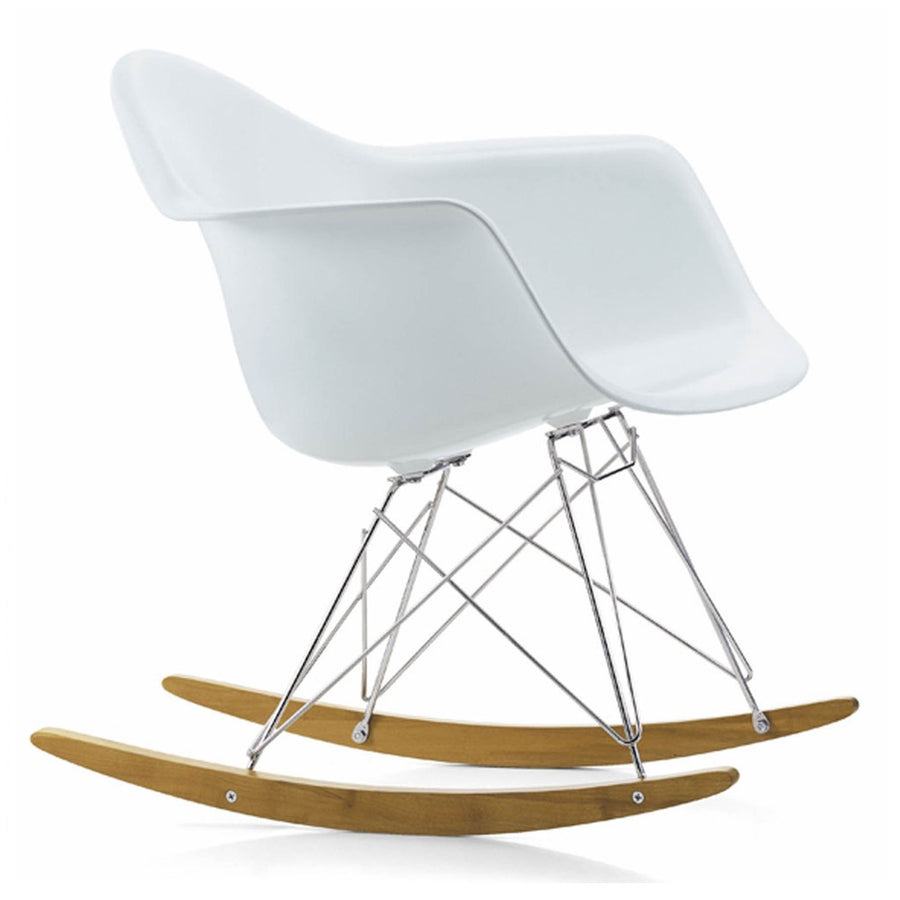 Chair - Rocking Chair-White Plastic- MSR0150