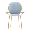 Velletri  Dinning Chair TG-199-Pastel blue