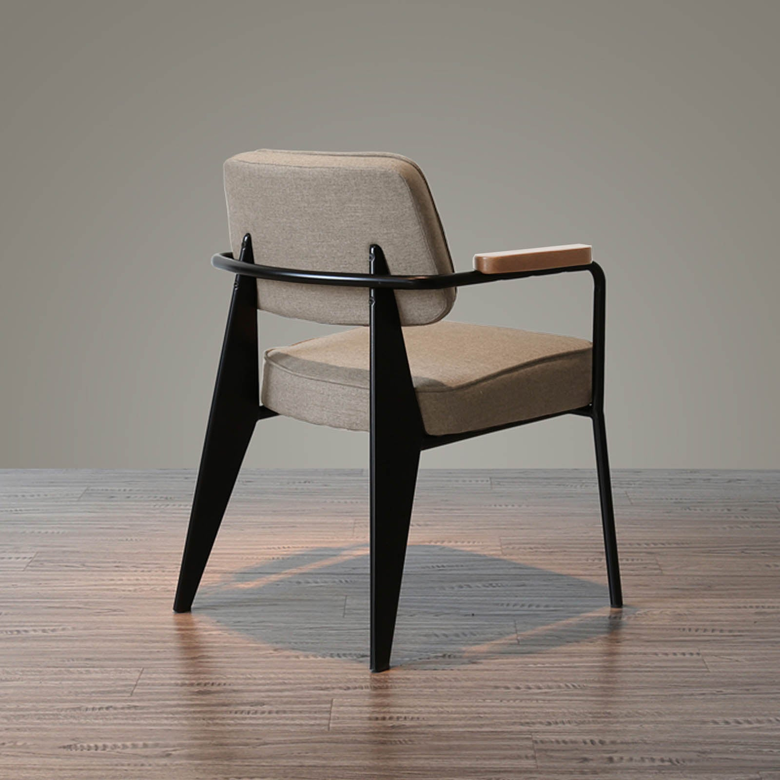 Retro Dining Chair  WS-005VC-BN -  كرسي طعام ريترو - Shop Online Furniture and Home Decor Store in Dubai, UAE at ebarza