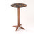 Bistro round   bar table  bistroLeg+roundtopBIS001