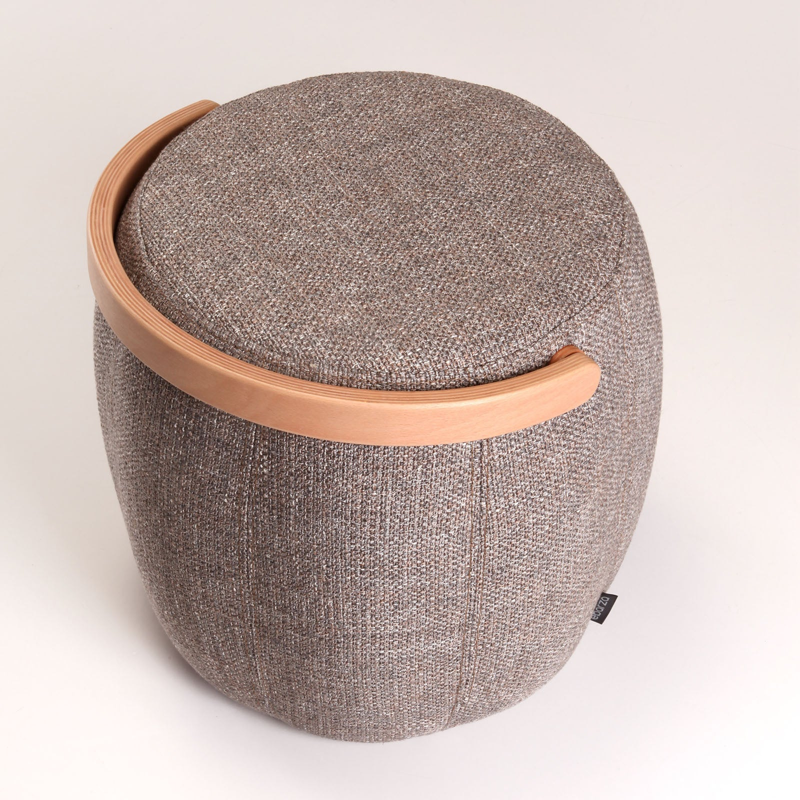 Flora Pouf  BAKRAC-N-GREY -  بوف فلورا - Shop Online Furniture and Home Decor Store in Dubai, UAE at ebarza
