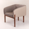 Pre-Order 40 days delivery Ken lounge chair  KEN-N-Grey