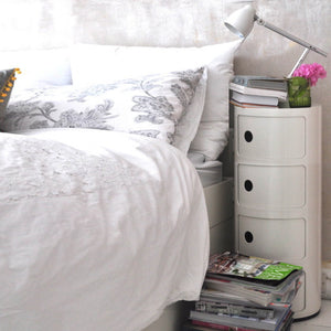 Storage/bedside table  BB-02B-W
