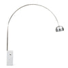 Arc  Lamp with natural marble base BP0078