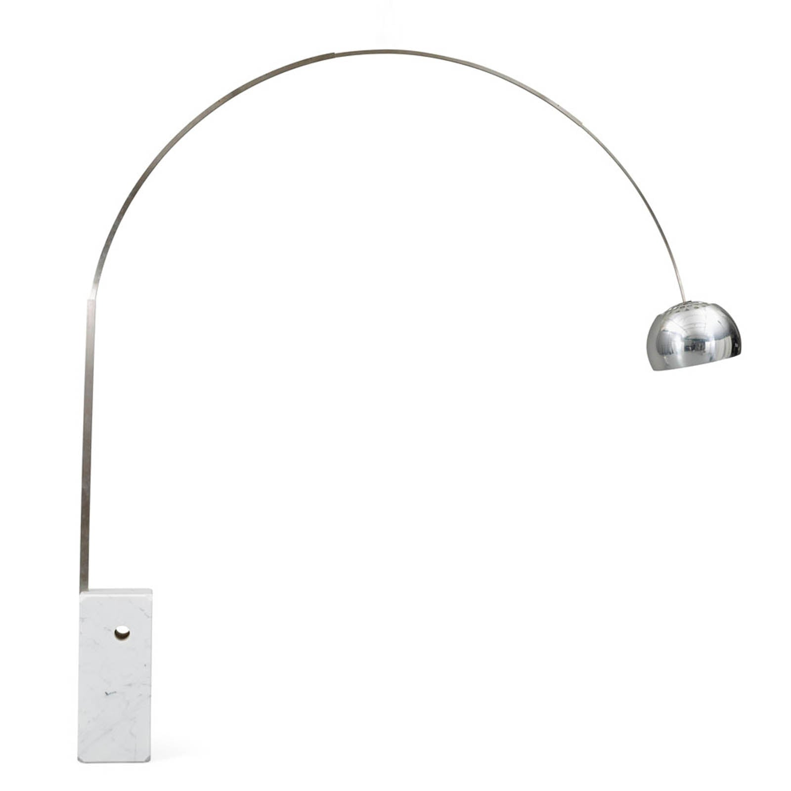 Pre-order 50 days delivery Arc  Lamp with natural marble base BP0078