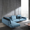 Chur L shape  Sofa SF038-Light Blue
