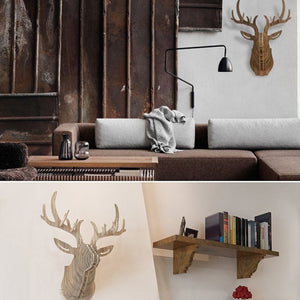 Art Home Wall Decoration Wood Crafts (Large) WDP001LW