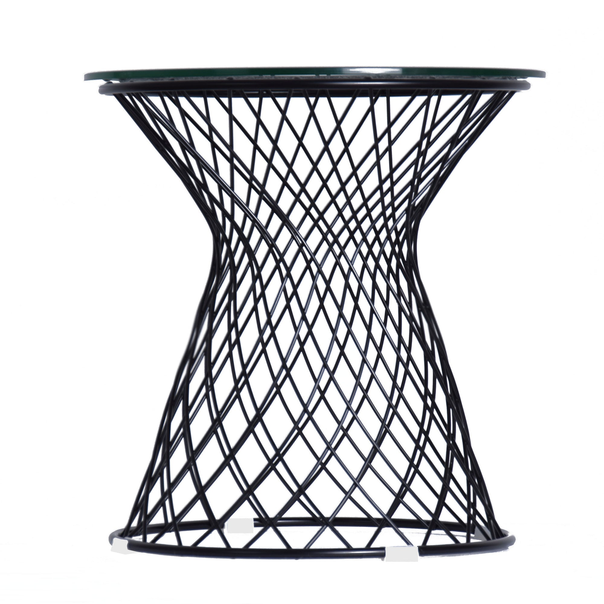 Coffee Table - Wire Table& Glass Top  BP7006-B