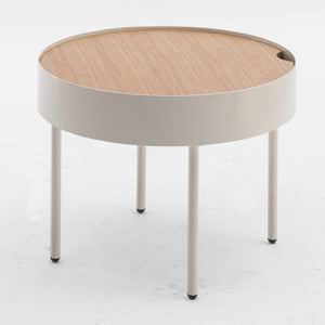 Side table with  wood top GT-381-N
