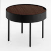 Side table with  wood top GT-381-W