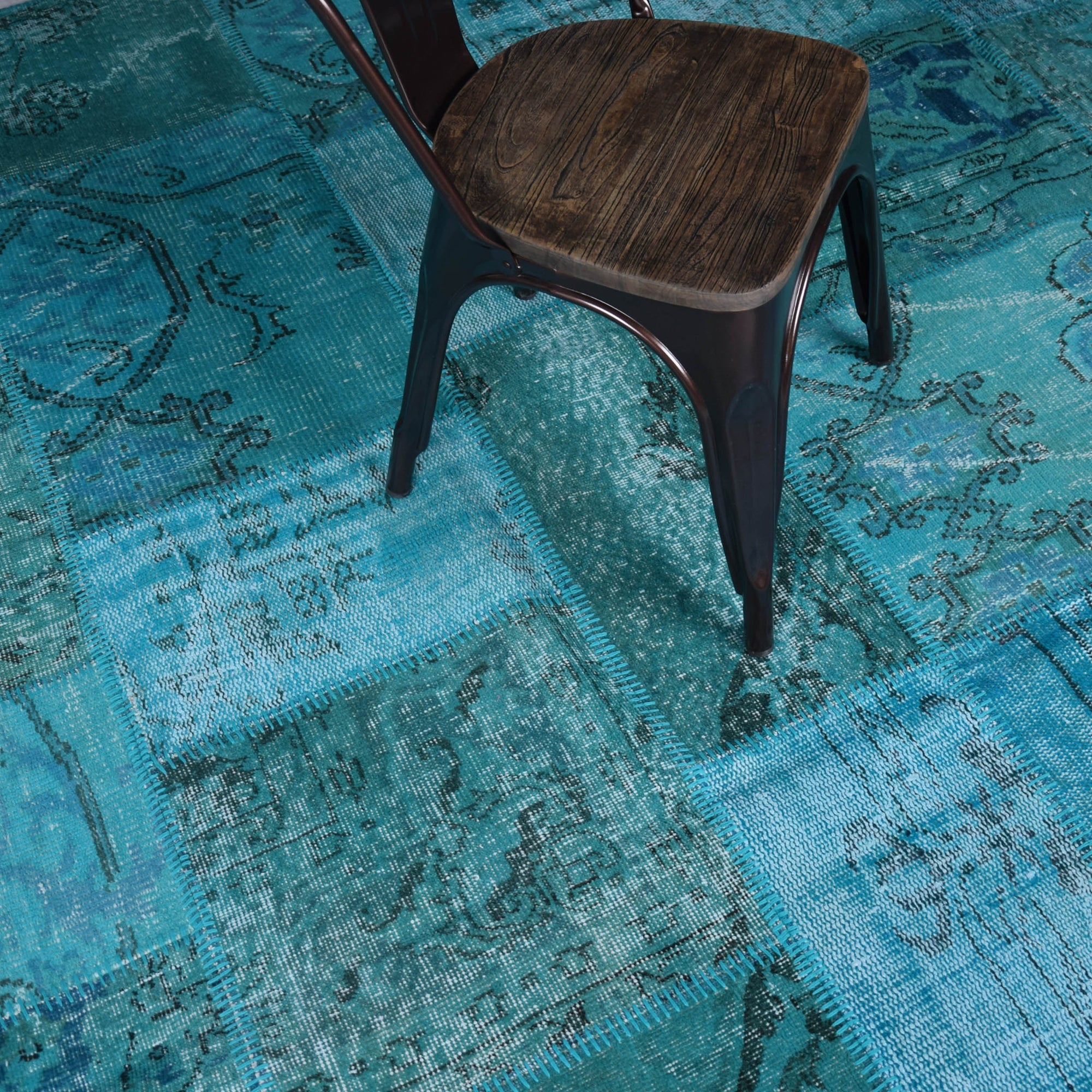 Pre Order 15 Days Delivery X Bursa Handmade Over Dyed Rug 320x220 Cm Pw028