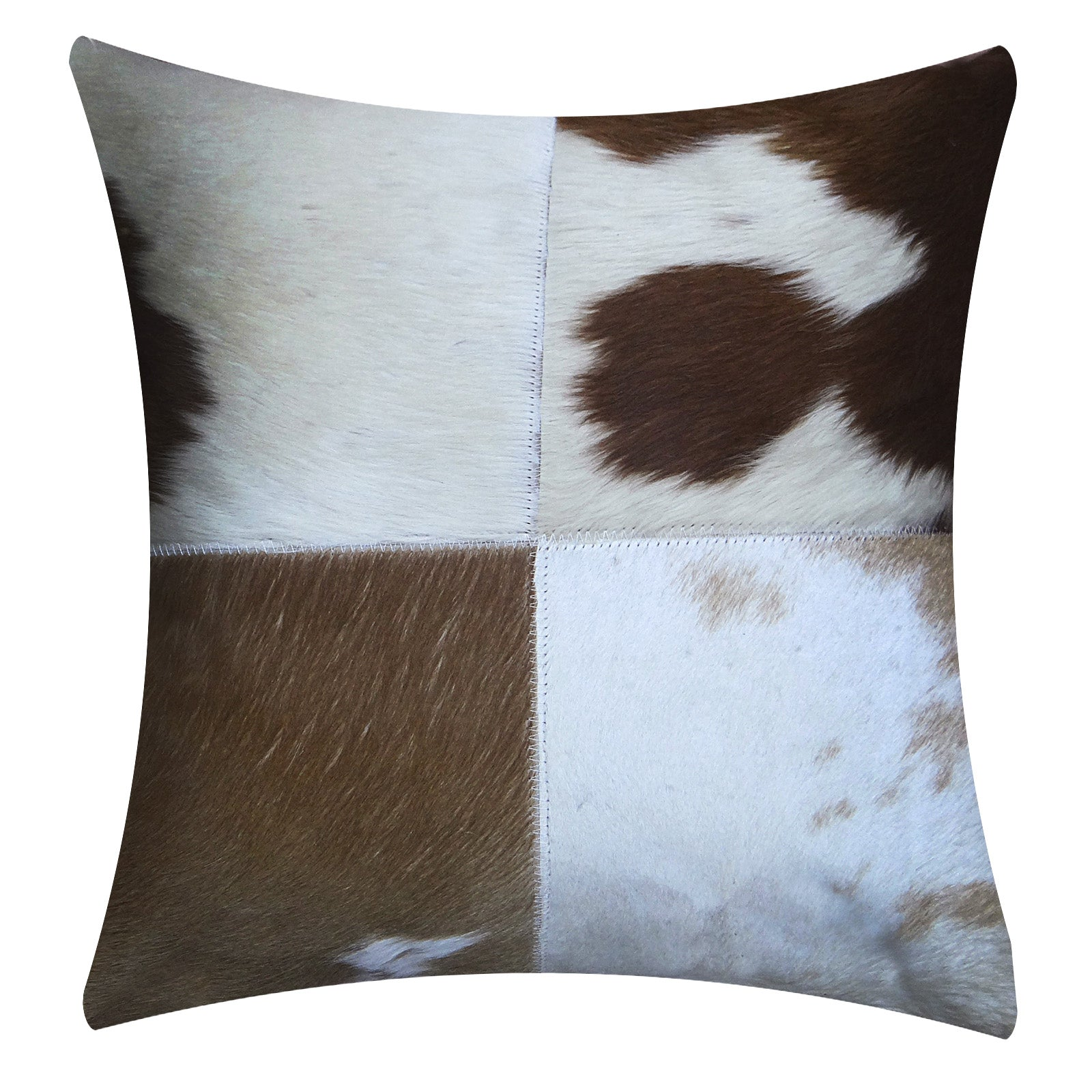 handmade Cowhide cushion cover COW-002