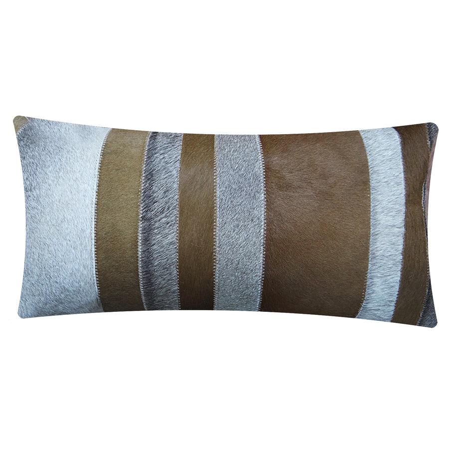 handmade Cowhide cushion cover COW-005