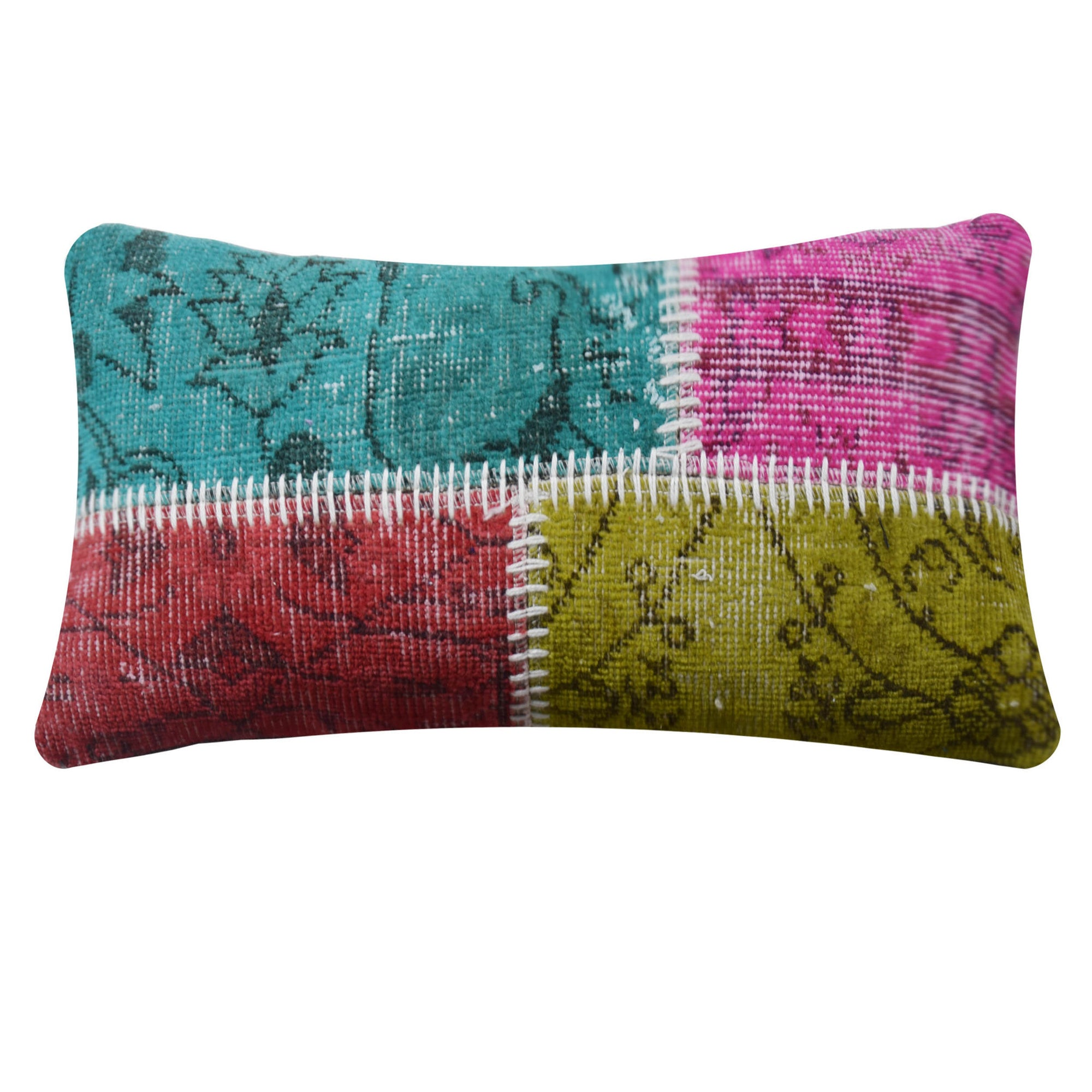 BURSA HANDMADE OVER DYED CUSHION COVER 30X60 SEC0072MS - ebarza