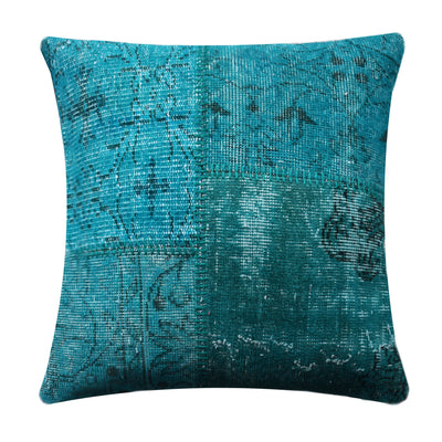 BURSA HANDMADE OVER DYED CUSHION COVER 45X45 SEC0072TM - ebarza