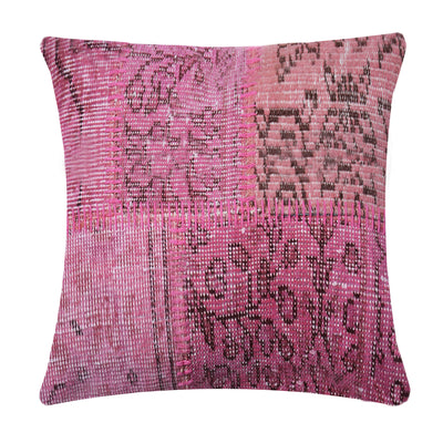 BURSA HANDMADE OVER DYED CUSHION COVER 45X45 SEC0082PM - ebarza