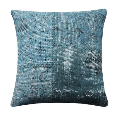 BURSA HANDMADE OVER DYED CUSHION COVER 60X60 SEC0072LBL - ebarza