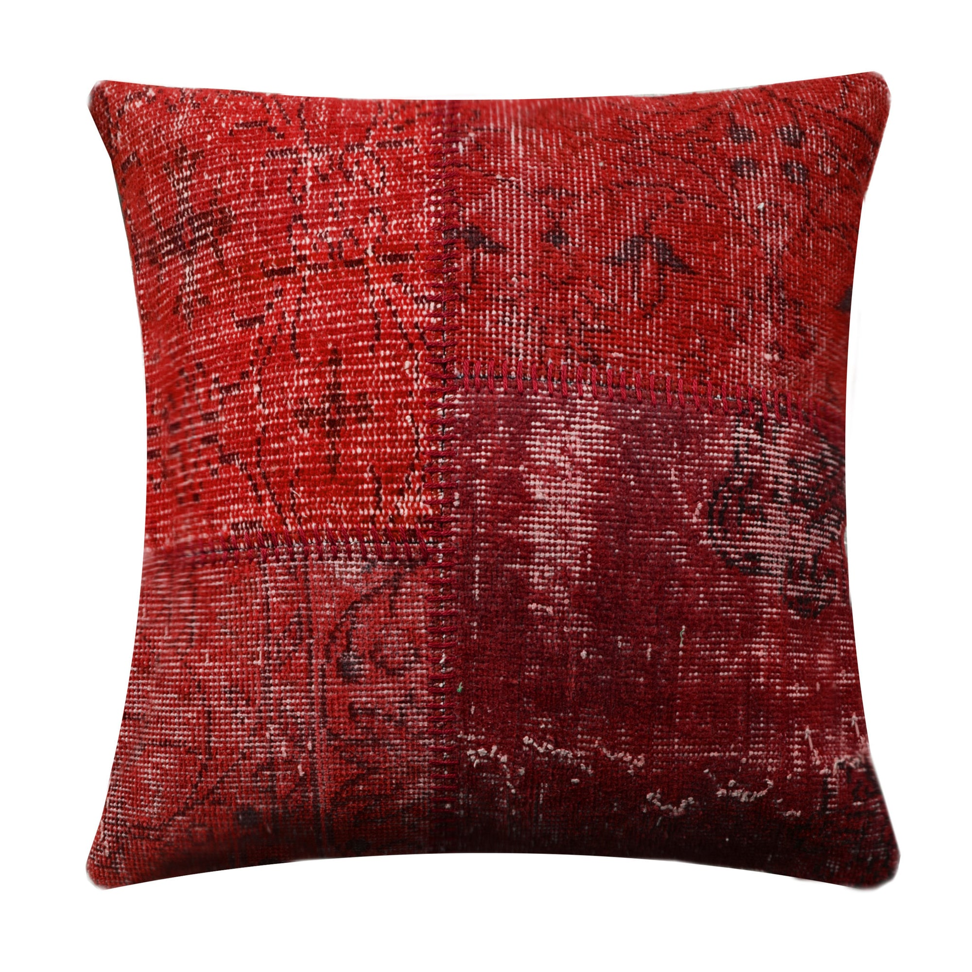 BURSA HANDMADE OVER DYED CUSHION COVER 60X60 SEC0072RL - ebarza