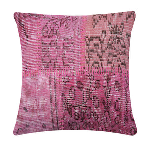 60X60 CM BURSA HANDMADE OVER DYED CUSHION COVER   SEC0082PL