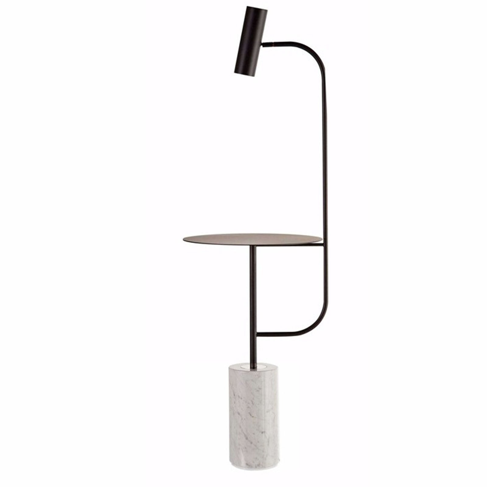 Natural Marble Floor Lamp Table Cy New 043 B Online Furniture Home Dec