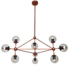 Vintage 10 Heads  Bubble  Chandelier  CY-DD-309-10-RG