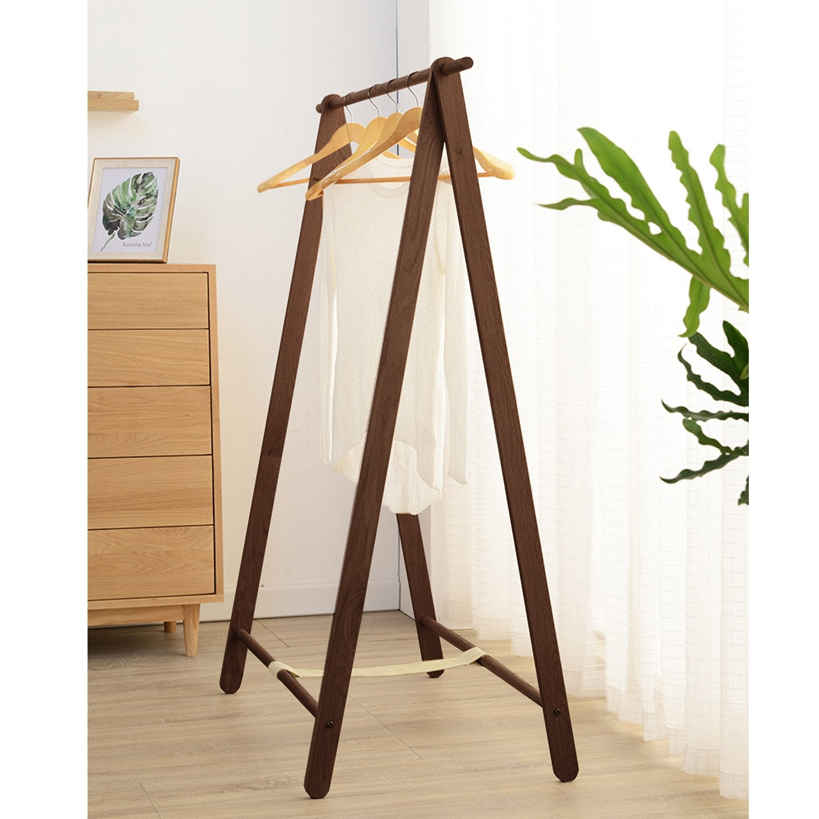 Solid Wood Hanger CH-025-W -  شماعات الخشب الصلب - Shop Online Furniture and Home Decor Store in Dubai, UAE at ebarza