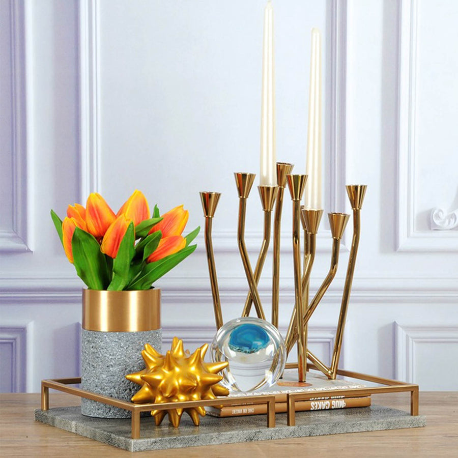 Candle holder AIO272 GD - ebarza