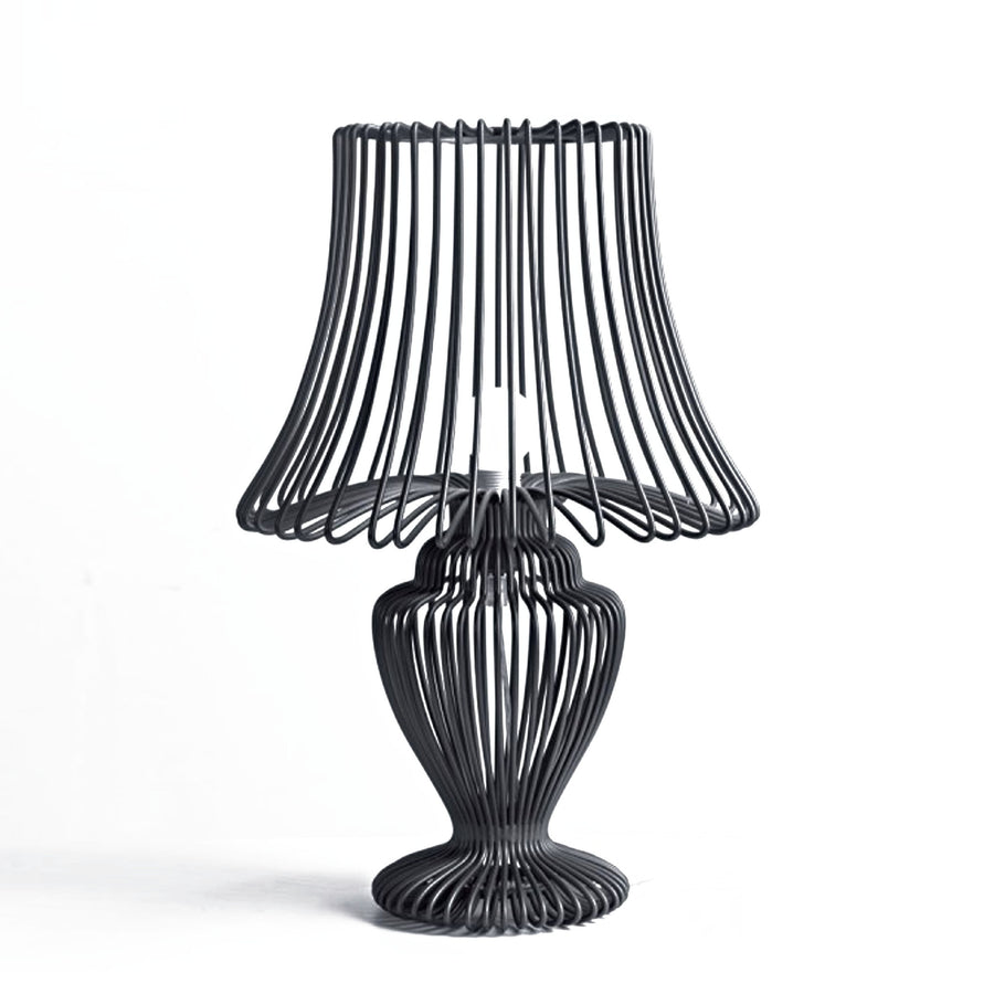Wires Wrought Iron table lamp BPSY01-B - ebarza