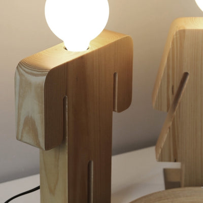 Desk\table Lamp - HeShe Solid Wood Office  BPMT22HE