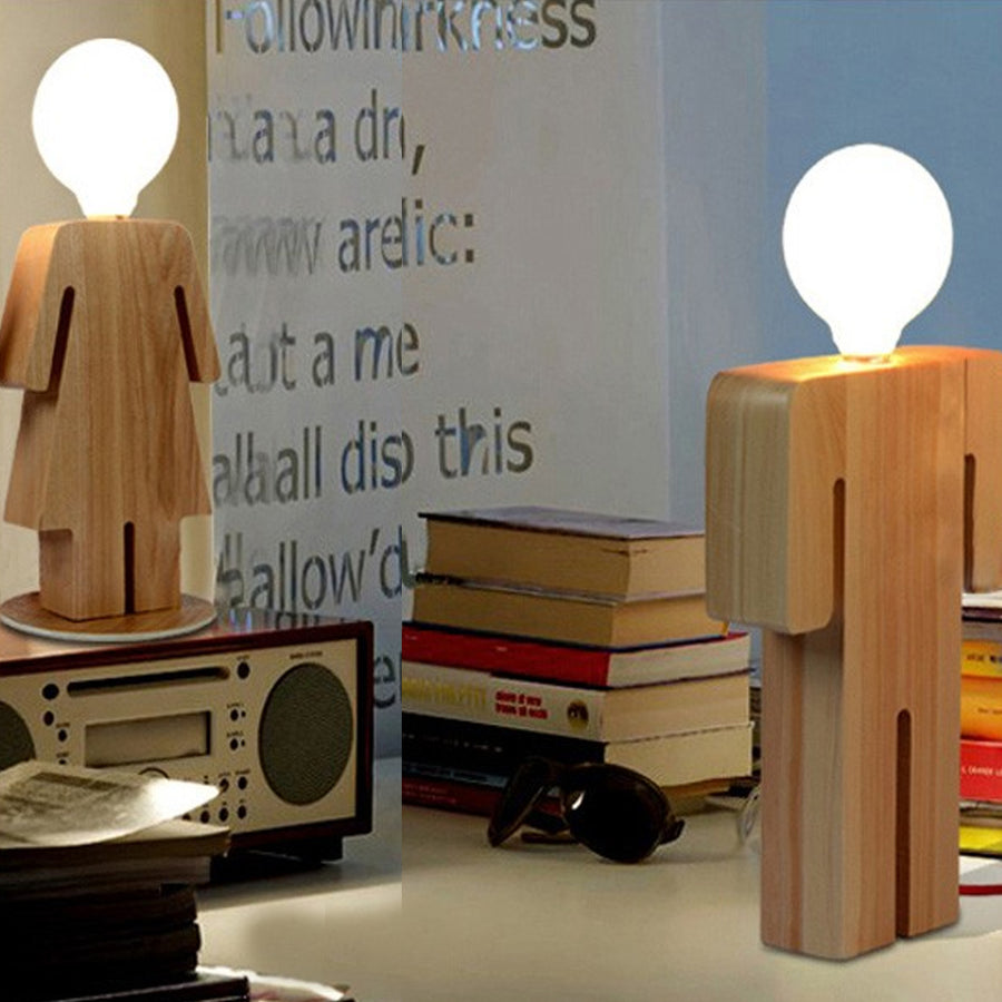 Desk\table Lamp - HeShe Solid Wood Office  BPMT22SHE