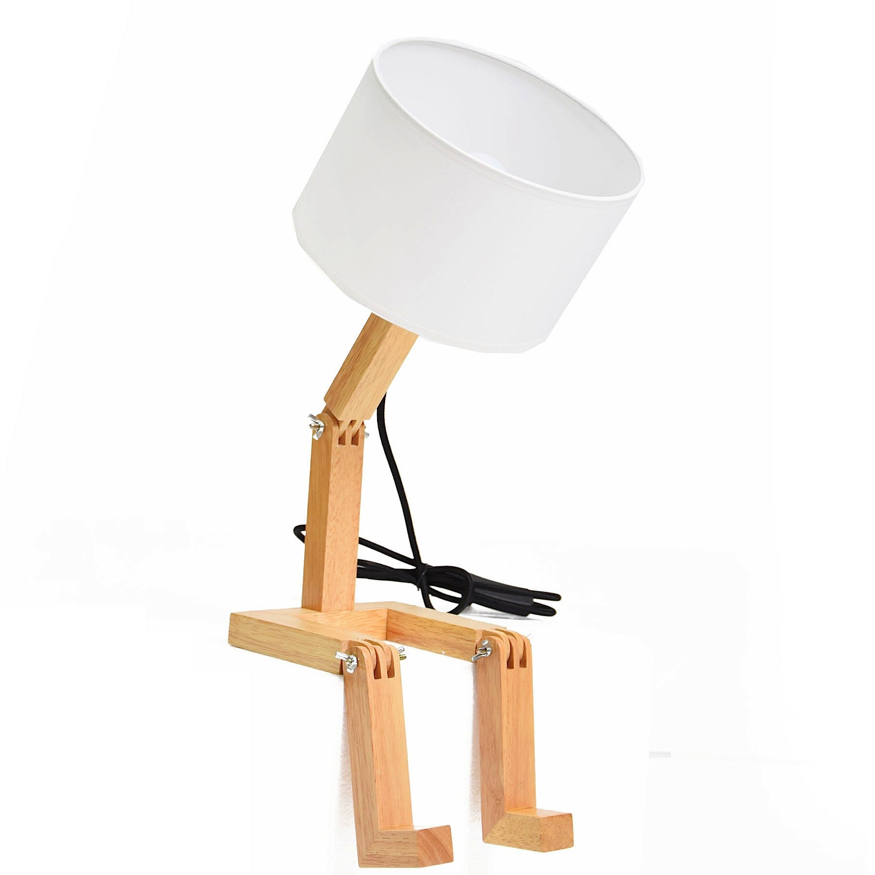 Mr.Lonley Solid Wood table lamp BPMT01-N - ebarza