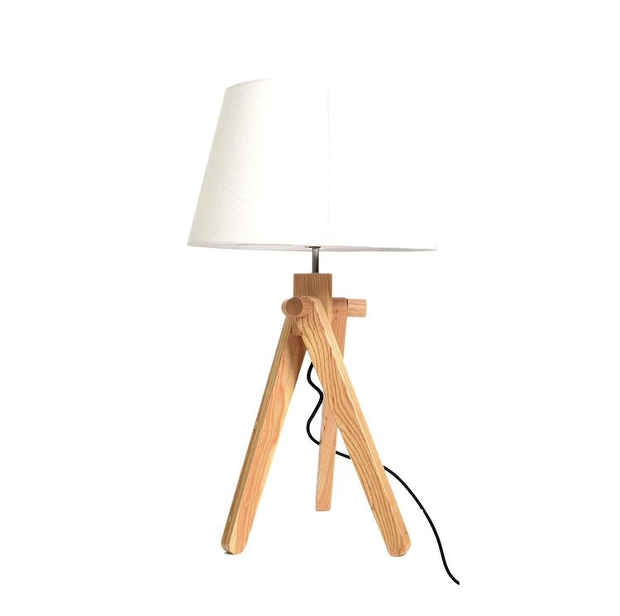 Desk\table Lamp - Trio Solid Wood Solid Wood Table Lamp BPTD056-N