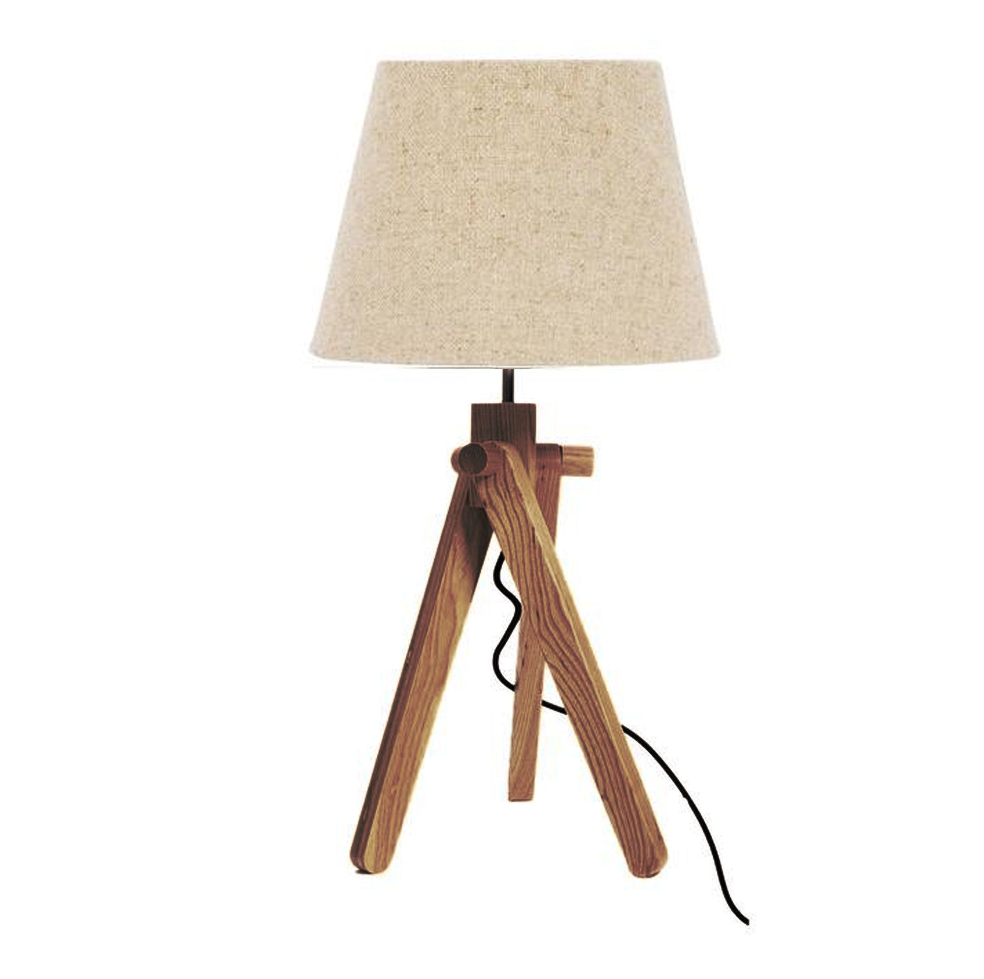 Trio solid wood table lamp BPTD056-W - ebarza