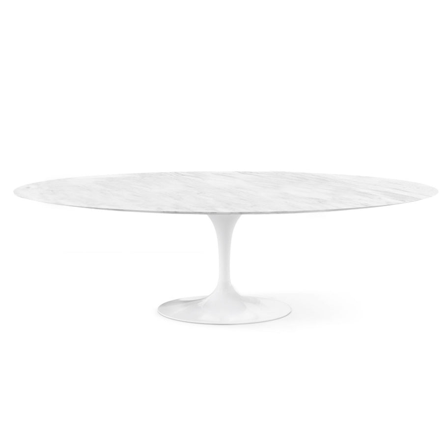 Dinning Table - Natural Marble Oval  Dining Table 200 Cm  BP-T083200