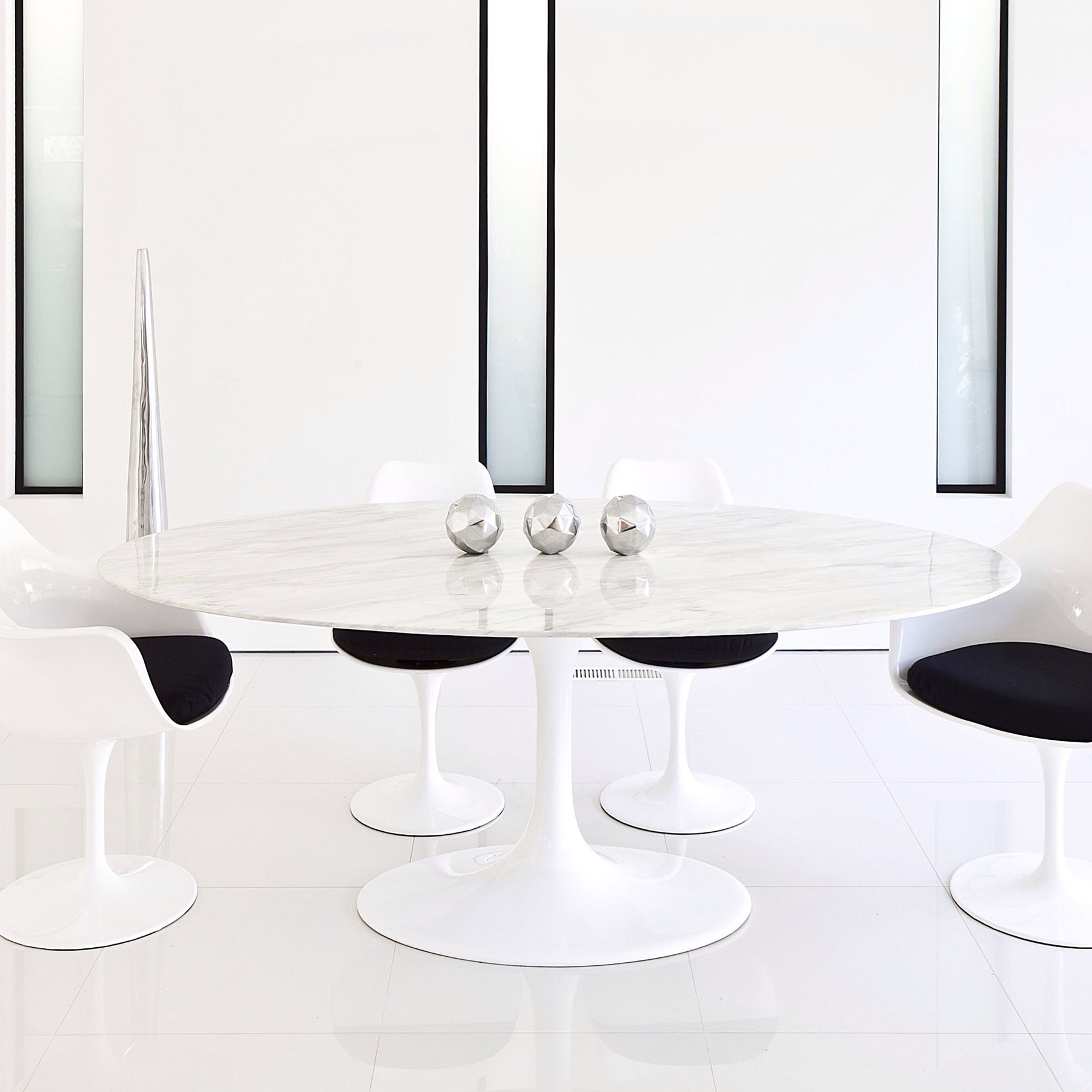 Pre-Order 5 days delivery Natural Marble Round Dining Table 5 cm  BP5-5