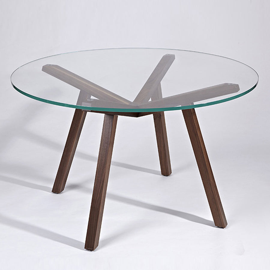 Dinning Table - Tumba Round Table 120 Cm BP6069-W