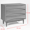Kolding Drawer/ Dresser Table  BSG15157-W