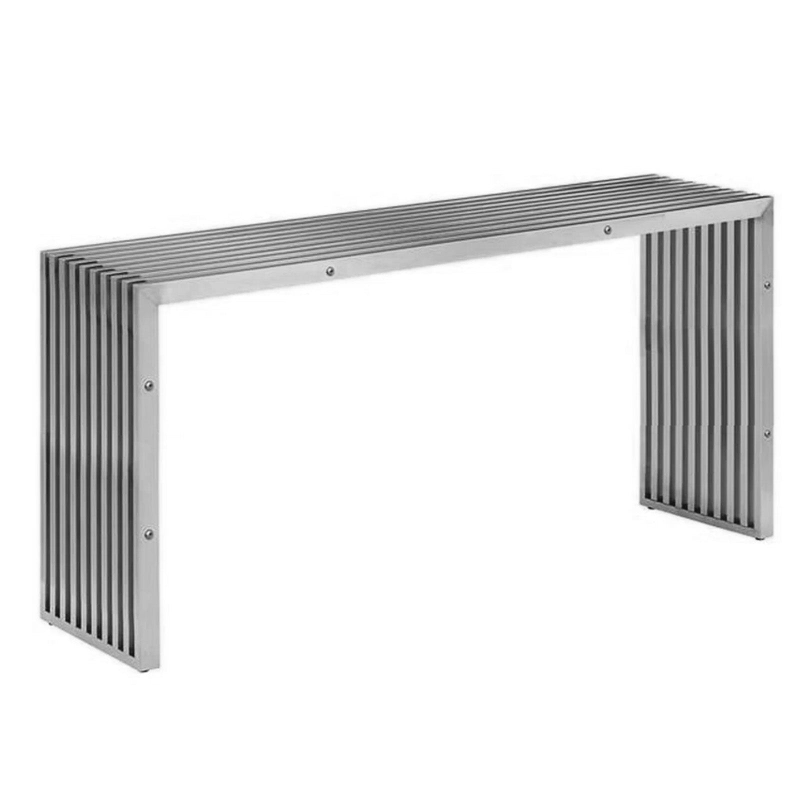 Mid Century Stainless Console  PSH-48-C-CON