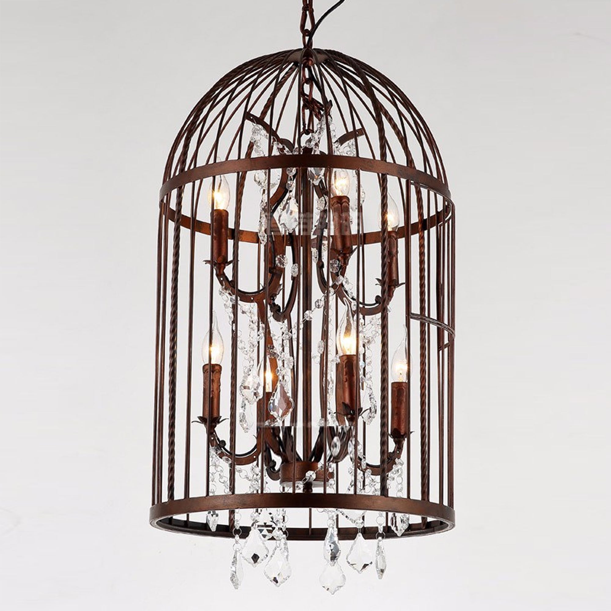 Classic Cage with Crystal Chandelier  CY-DD-193