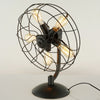 5 heads Industrial Fan Table Lamp   CY-LTD-024