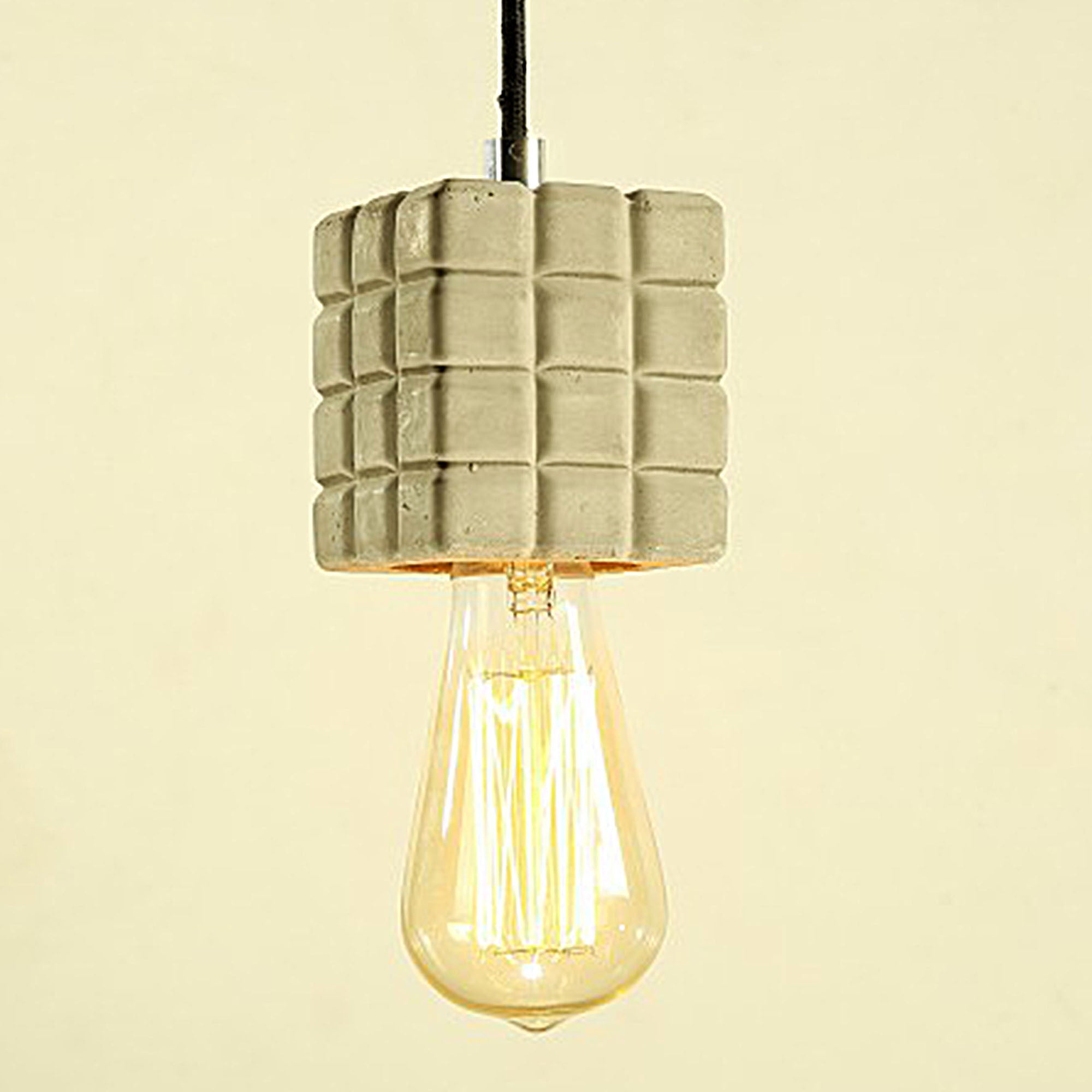 Industrial  Cement  Pendant  Lamp  CY-DD-251