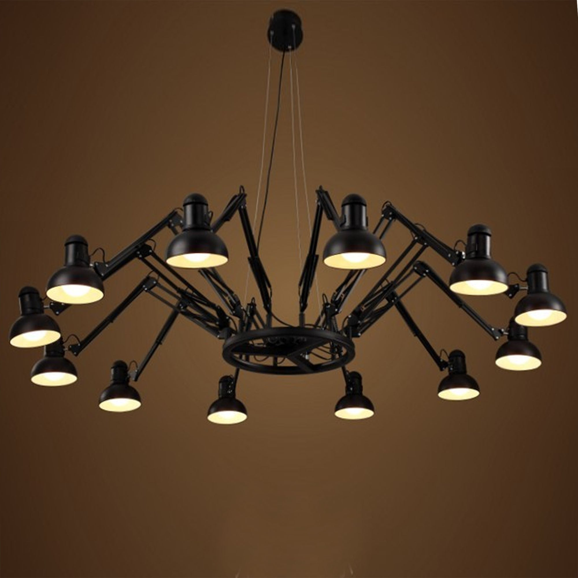 12 heads Spider Classic Chandelier CY-DD-463-12 -  بتصميم العنكبوت 12 رأس الثريا - Shop Online Furniture and Home Decor Store in Dubai, UAE at ebarza