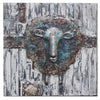 Handcrafted  metal Art Painting   100X100 cm SOAP033
