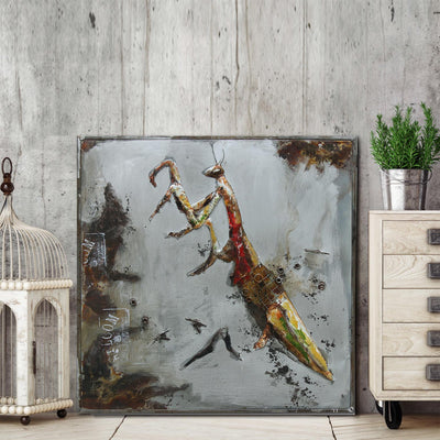 Handcrafted  metal Art Painting   100X100 cm SOAP030 - ebarza