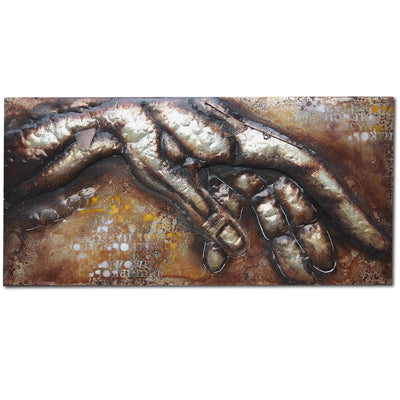 Handcrafted  metal Art Painting  140X70 cm SOAP014