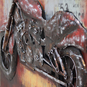 Handcrafted  metal Art Painting  120X90 cm SOAP016