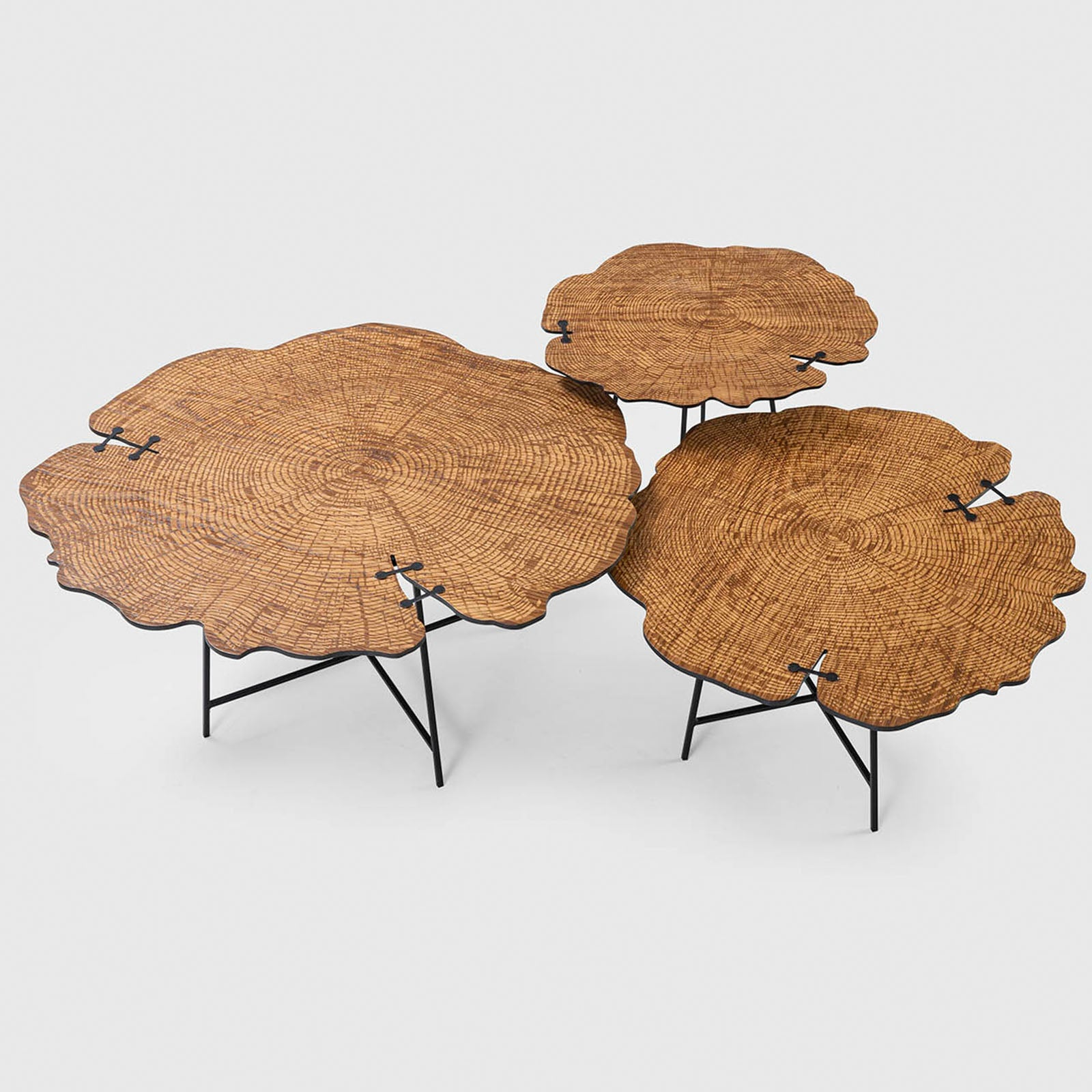 Pre-Order 50 days delivery  Set of 3 Olea Tables OLEA-001