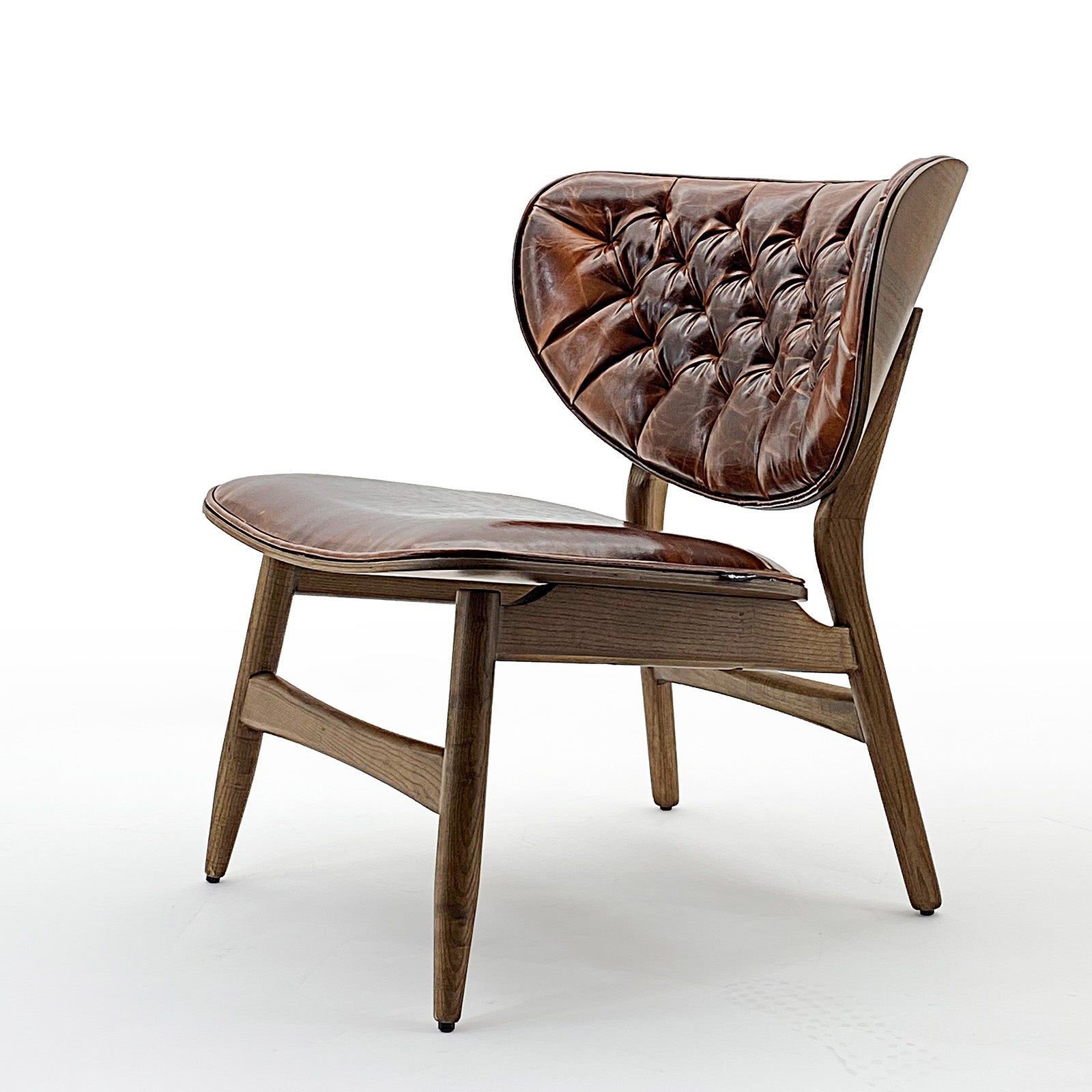 Flora Lounge Chair   Flora-ero040-vintage brown